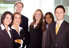 Lavoro della squadra dell'ufficio di affari Immagine Stock Libera da Diritti