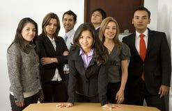 Lavoro della squadra dell'ufficio di affari Immagini Stock