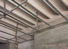 lavoro di alluminio della struttura del soffitto del C-line Fotografia Stock Libera da Diritti