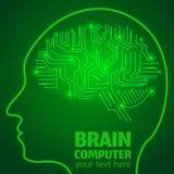 Lavoro di cervello 1 Fotografie Stock