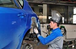 Lavoro di corpo dell'automobile. Immagine Stock Libera da Diritti