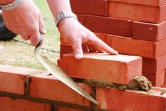 Lavoro di costruzione Immagini Stock