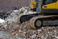 Lavoro di demolizione Fotografie Stock Libere da Diritti