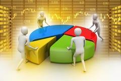 Lavoro di gruppo, concetto di affari Immagini Stock