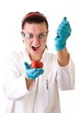 Lavoro di laboratorio del â del Gmo Immagini Stock