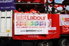 Lavoro di LGBT fotografie stock libere da diritti