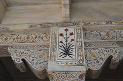 Lavoro di marmo dell'intarsio Immagini Stock
