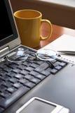 Lavoro di mattina Fotografie Stock