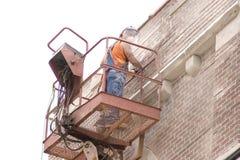 Lavoro di mattone 1 Fotografia Stock