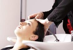 Lavoro di parrucchiere Immagini Stock Libere da Diritti