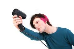 Lavoro di parrucchiere di vanità teenager Immagini Stock Libere da Diritti