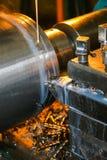 Lavoro di produzione nello strumento Immagine Stock