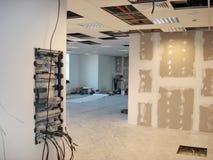 Lavoro di rifinitura della costruzione Fotografia Stock Libera da Diritti