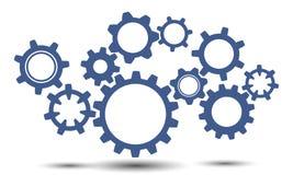 Lavoro di squadra di concetto, idea di affari del generatore - vettore Fotografia Stock