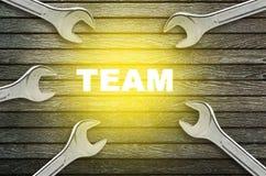 Lavoro di squadra delle chiavi Immagine Stock Libera da Diritti