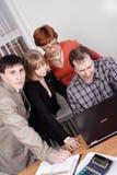 Lavoro di squadra di affari Fotografie Stock