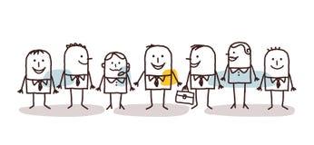 Lavoro di squadra di affari illustrazione vettoriale