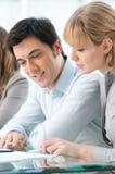 Lavoro di squadra e cooperazione Immagine Stock
