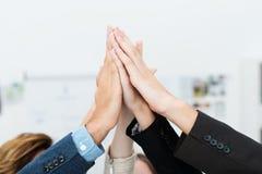 Lavoro di squadra e cooperazione Immagini Stock Libere da Diritti
