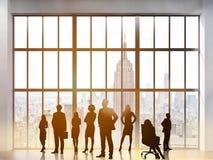 Lavoro di squadra ed associazione Immagine Stock