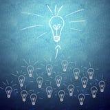 Lavoro di squadra ed innovazione di affari Immagine Stock Libera da Diritti