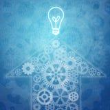Lavoro di squadra ed innovazione di affari illustrazione vettoriale