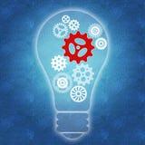 Lavoro di squadra ed innovazione di affari royalty illustrazione gratis