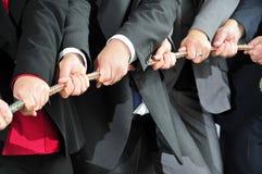 Lavoro di squadra sul job Fotografie Stock Libere da Diritti