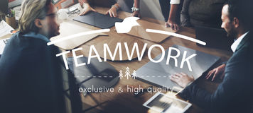 Lavoro di squadra Team Building Spirit Togetherness Concept Fotografia Stock