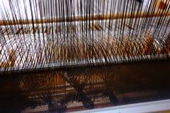 Lavoro di tessitura Fotografia Stock