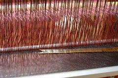 Lavoro di tessitura Fotografia Stock Libera da Diritti