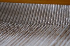 Lavoro di tessitura Fotografie Stock Libere da Diritti