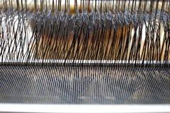 Lavoro di tessitura Fotografie Stock