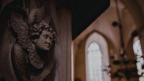 Lavoro di traforo Tallinn della chiesa Fotografia Stock Libera da Diritti
