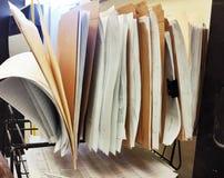 Lavoro di ufficio Fotografie Stock Libere da Diritti