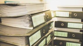 Lavoro di ufficio, carta, pila Immagine Stock