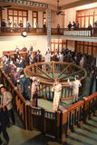 Lavoro di ufficio nel museo municipale di storia di Shanghai Immagine Stock Libera da Diritti