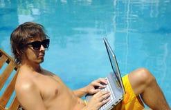 Lavoro di vacanza Fotografia Stock