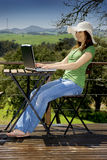 Lavoro di vacanza Immagini Stock Libere da Diritti