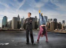 Lavoro e divertimento Fotografie Stock Libere da Diritti