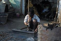 Lavoro infantile fotografia stock libera da diritti