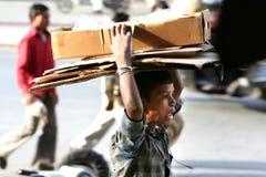 Lavoro infantile Fotografia Stock