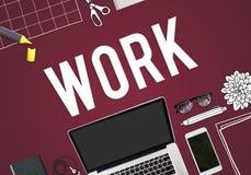 Lavoro Job Occupation Career Concept Fotografia Stock