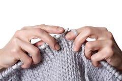 Lavoro a maglia Immagine Stock Libera da Diritti