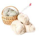 Lavoro a maglia Immagini Stock Libere da Diritti