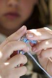 Lavoro a maglia Fotografie Stock Libere da Diritti