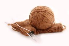 Lavoro a maglia Immagine Stock