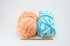 Lavoro a maglia e crochet Fotografia Stock