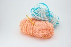 Lavoro a maglia e crochet Fotografia Stock Libera da Diritti