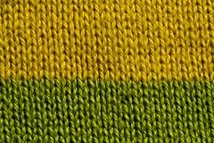 Lavoro a maglia a macroistruzione Immagine Stock Libera da Diritti